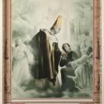 Sant'Ambrogio e il piccolo Duomo, cm 150x210, painting, collage, ink jet on ultra smooth fine art