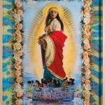 La protezione di Sant'Agata, cm 150x210, painting, collage, ink jet on ultra smooth fine art