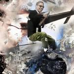 Satiricon 3, Ink jet su glossy photo paper, Cm 140x180, 2010