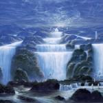 """Marana tha"" oil on canvas. Cm. 250x170, 1991"