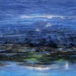 """""""Purgatorio"""" oil on canvas . Cm. 250x170, 1991"""